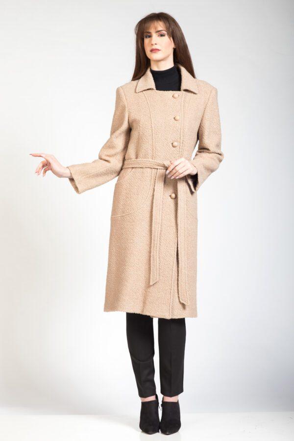Γυναικείο παλτό καμηλό
