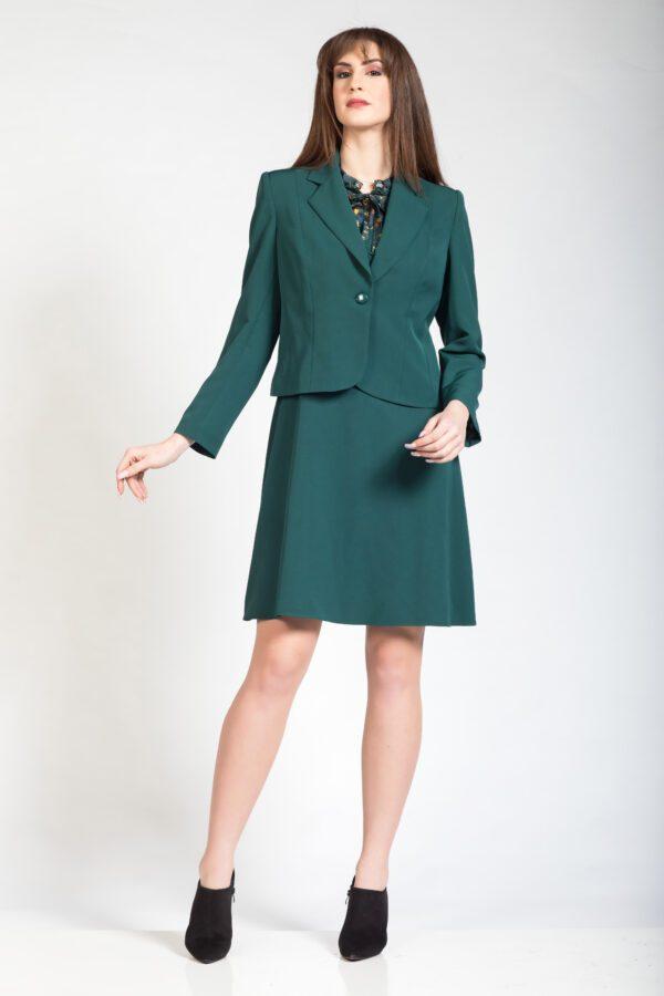 Πράσινο μπολερό φόρεμα