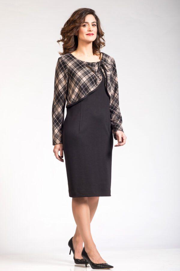 Μαύρο φόρεμα μακρυμάνικο